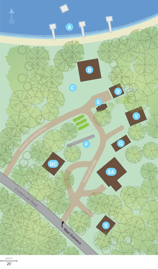 Crystal Acres Site Map